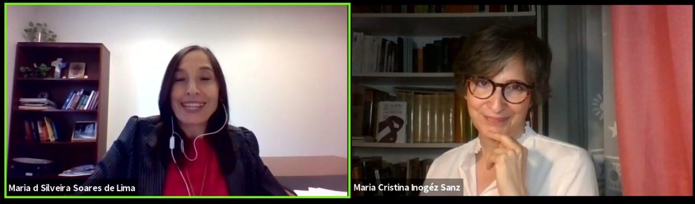 Cristina Inogés y María del Pilar Silveira conversaron sobre el papel de la mujer en la Iglesia