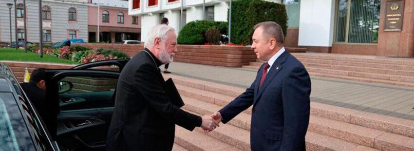 Paul Richard Gallagher en Bielorrusia