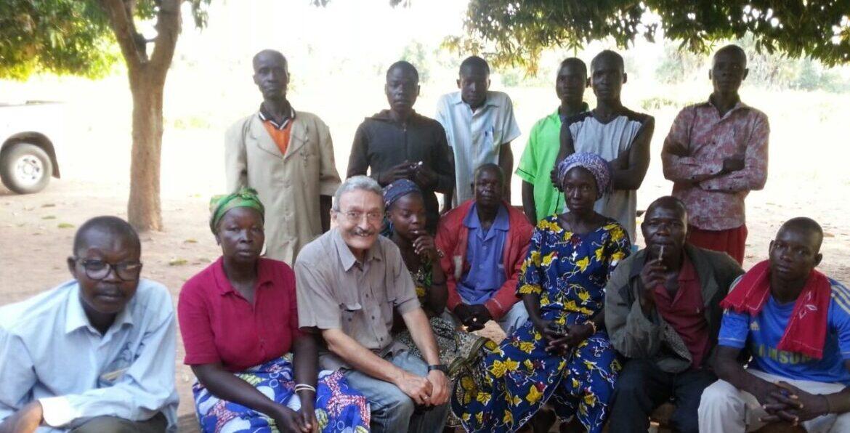 Enrique Rosich, misionero comboniano en Chad