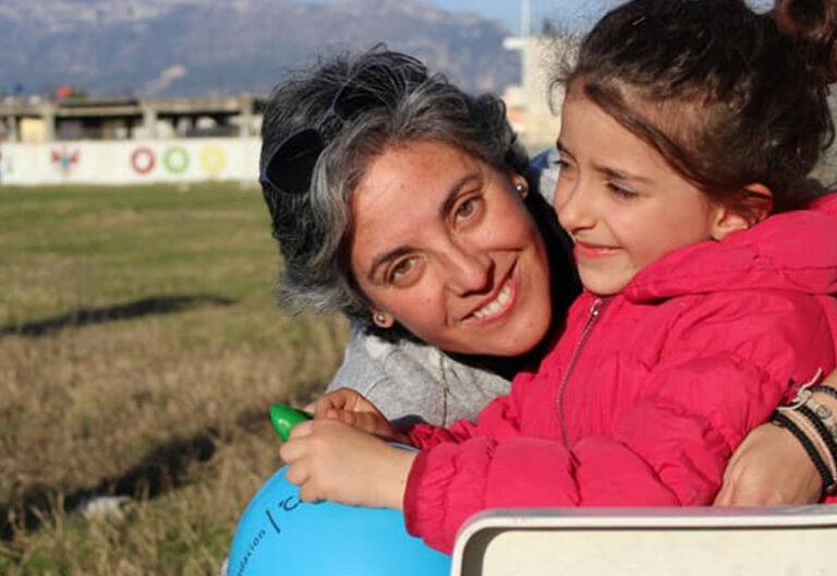 Eva Maldonado, misionera en Albania