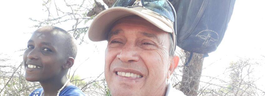 Luis Carlos Fernández, misionero en Kenia