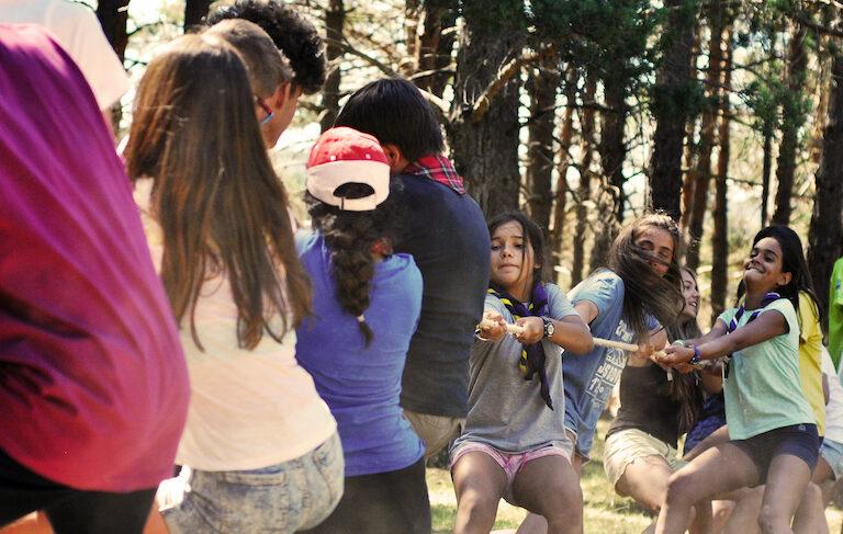 Scouts jóvenes