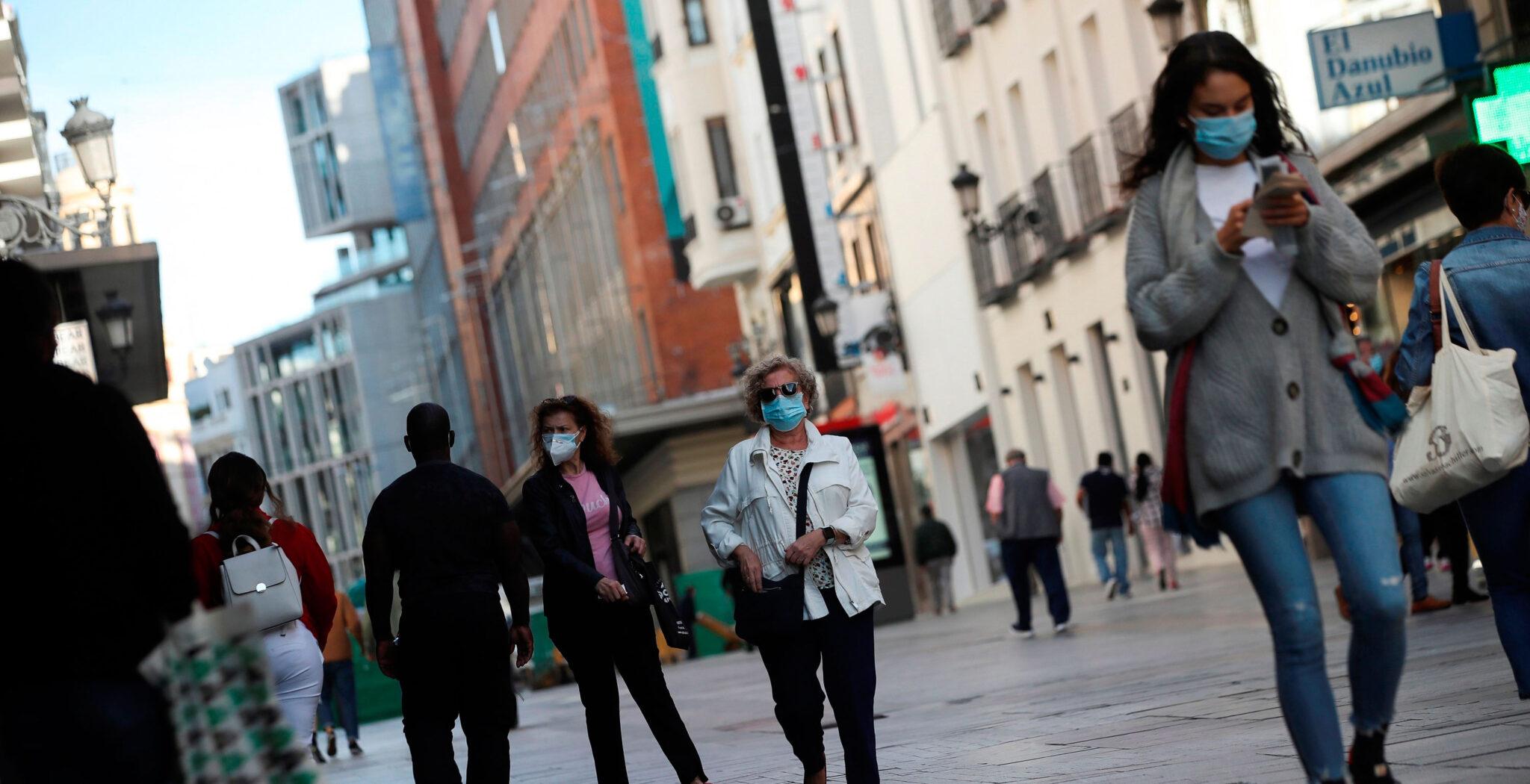 coronavirus, Madrid