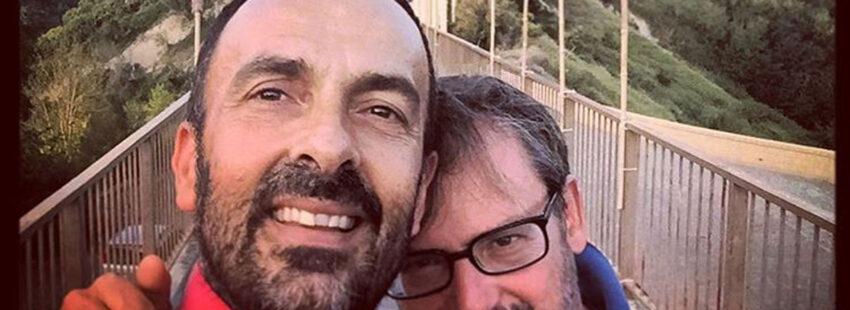 Andrea Rubera, el italiano casado con otro hombre y padre de tres hijos entrevistado en 'Francesco'