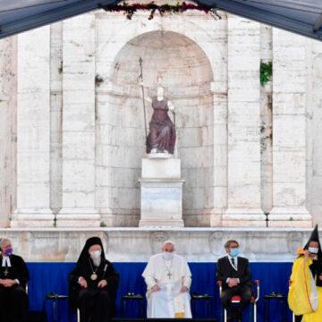 Líderes religiosos en el Encuentro de Oración por la Paz de Sant'Egidio