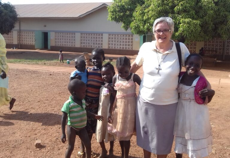 Maria Martinelli, misionera en Sudán del Sur