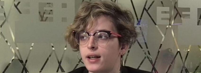 La escritora trans Elizabeth Duval