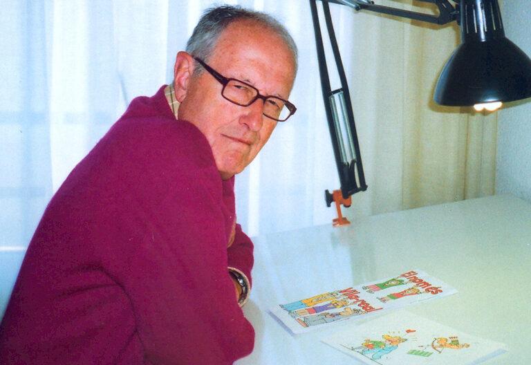 Quique (Enric Arenós), dibujante de humor