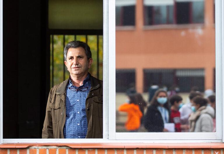 Severino Manrique, profesor de Religión