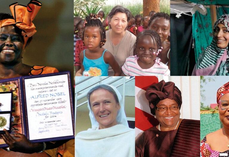 Artesana de la reconciliación en África