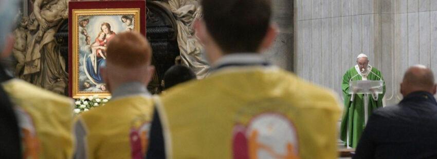 papa francisco misa jornada mundial de los pobres