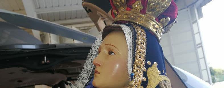 Virgen de los Dolores y el Santísimo Sacramento