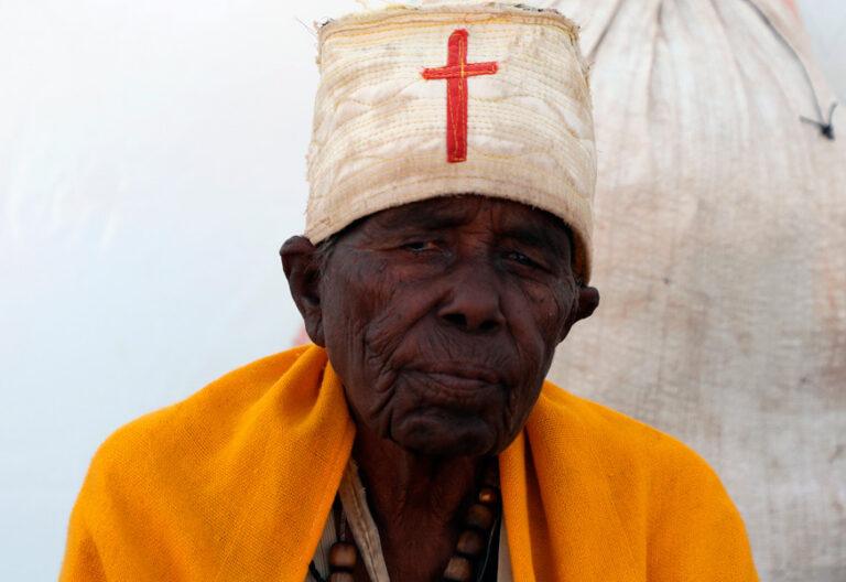 Refugiado etíope en Sudán