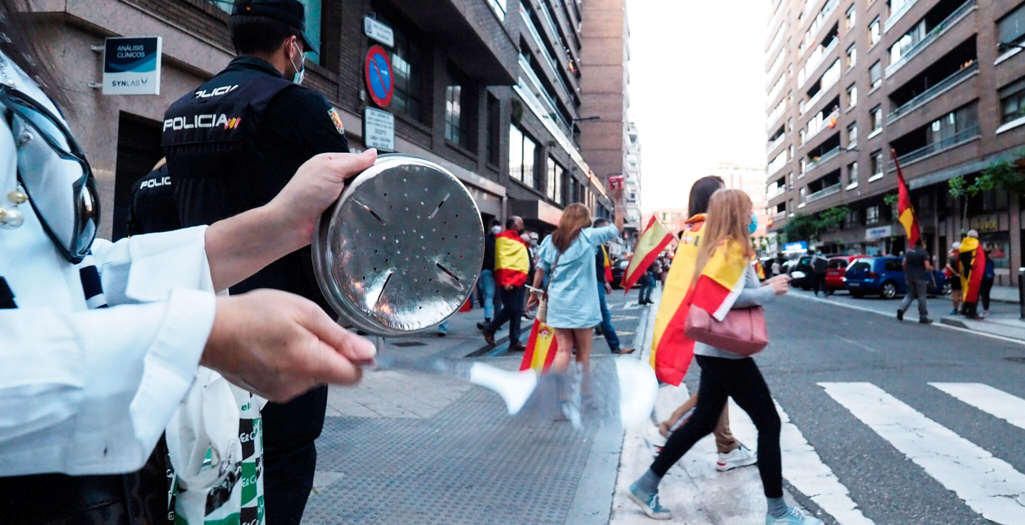 protestas España