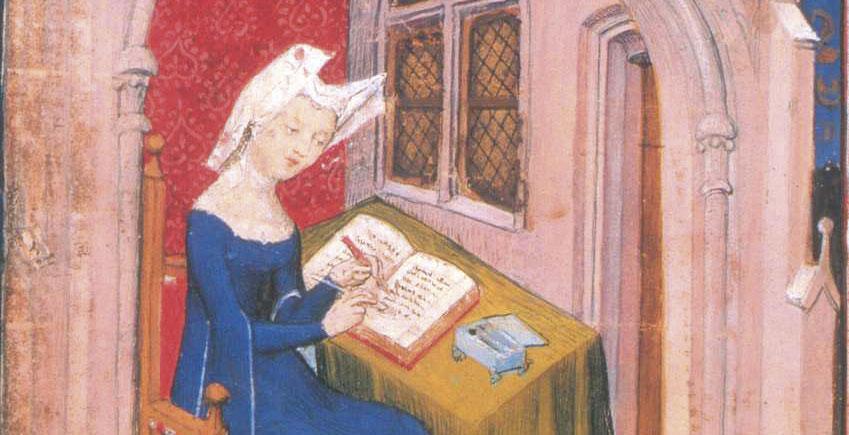 Filósofa y poeta de la Edad Media