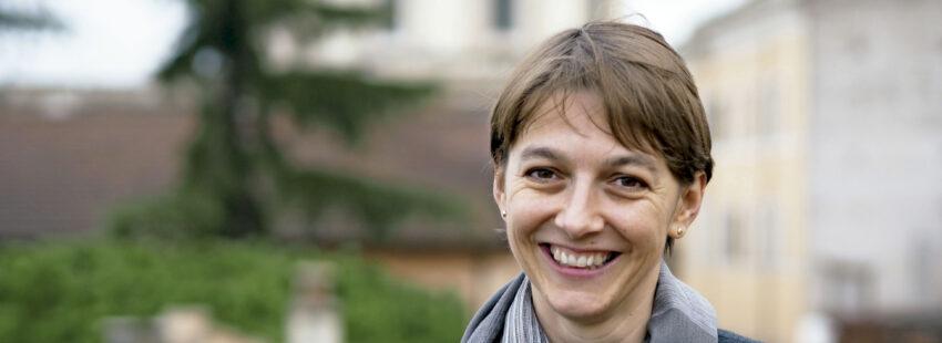 Teóloga y directora del Departamento Teológico-Pastoral del Dicasterio vaticano para las Comunicaciones
