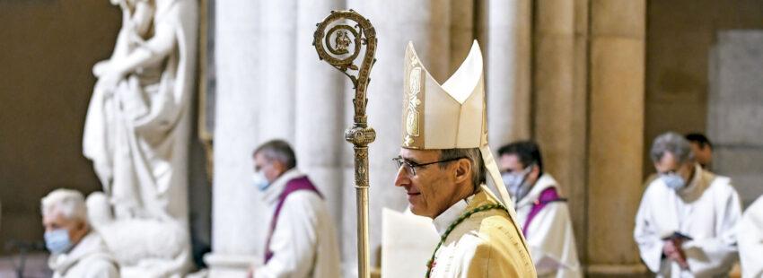 Nuevos arzobispo de Lyon