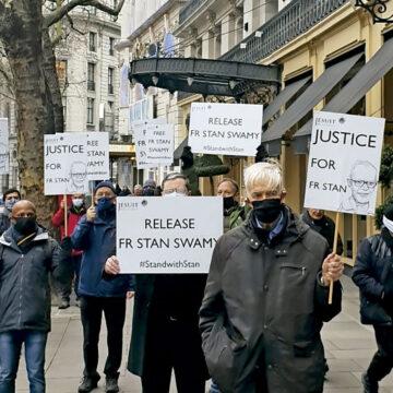 Protesta por su liberación