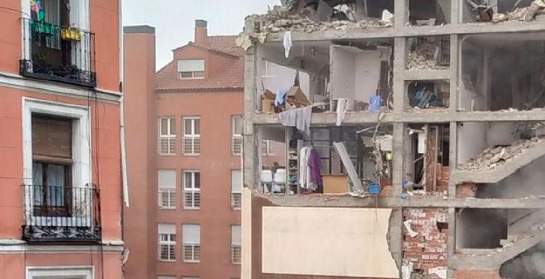 explosión Madrid