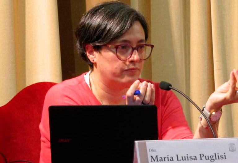 María Luisa Puglisi, religiosa adoratriz y presidenta de la Fundación Amaranta