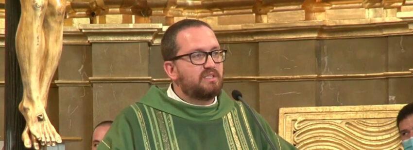 Rubén Pérez de Ayala, sacerdote fallecido tras la explosión de la casa parroquial de La Paloma en la calle Toledo