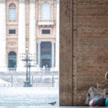 Sin techo Vaticanoo Edwin