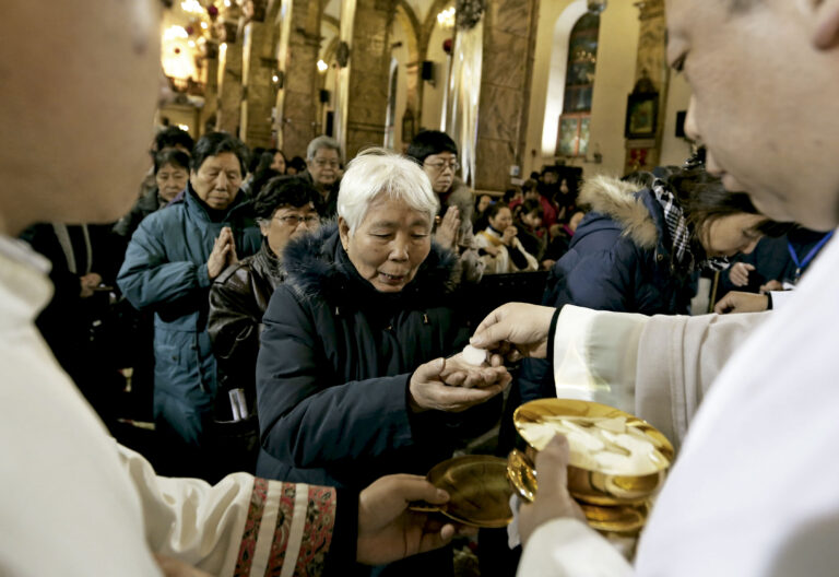 Católicos en China. Acuerdos China Vaticano
