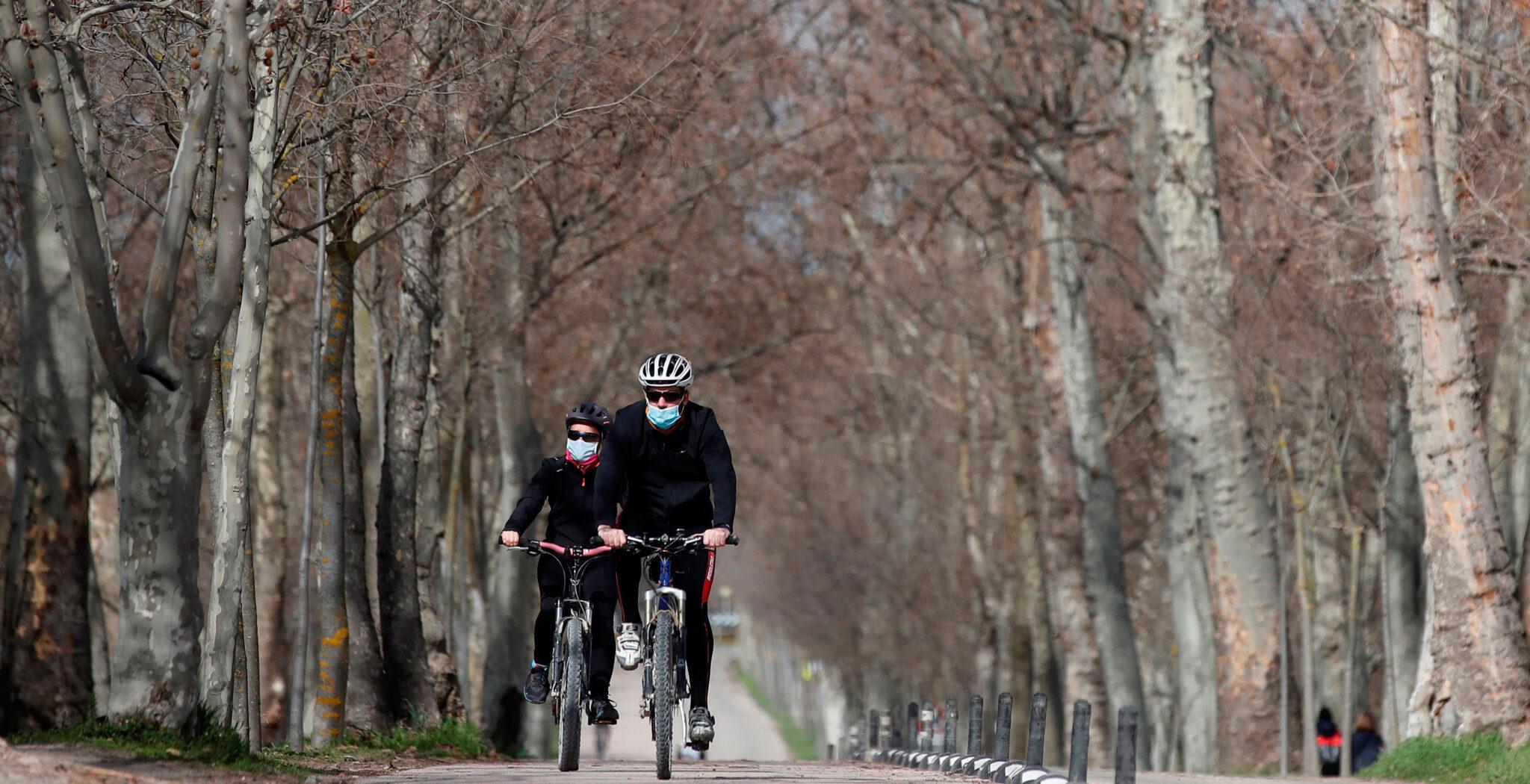 Deporte, montar en bicicleta, naturaleza, ocio