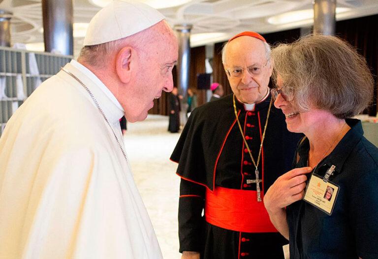 Nathalie Becquart, subsecretaria del Sínodo de los Obispos