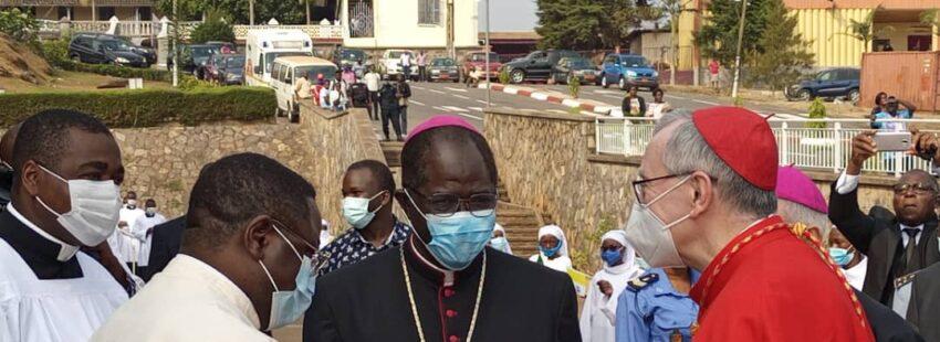 Parolin en Camerún