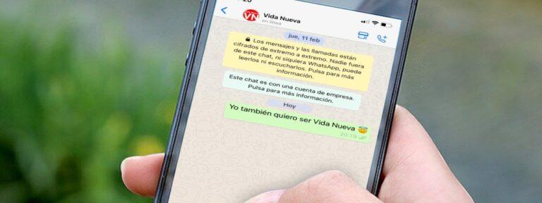 Recibe las mejores noticias de Vida Nueva en tu WhatsApp