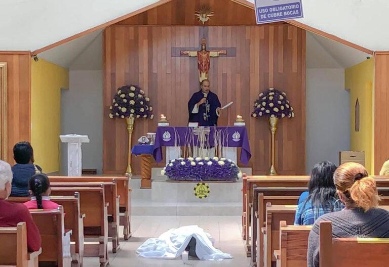 hombre fallece en iglesia de Ciudad de México