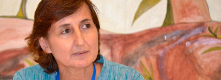 Raquel Pérez Sanjuán, directora de la Comisión para la Educación y Cultura de la CEE