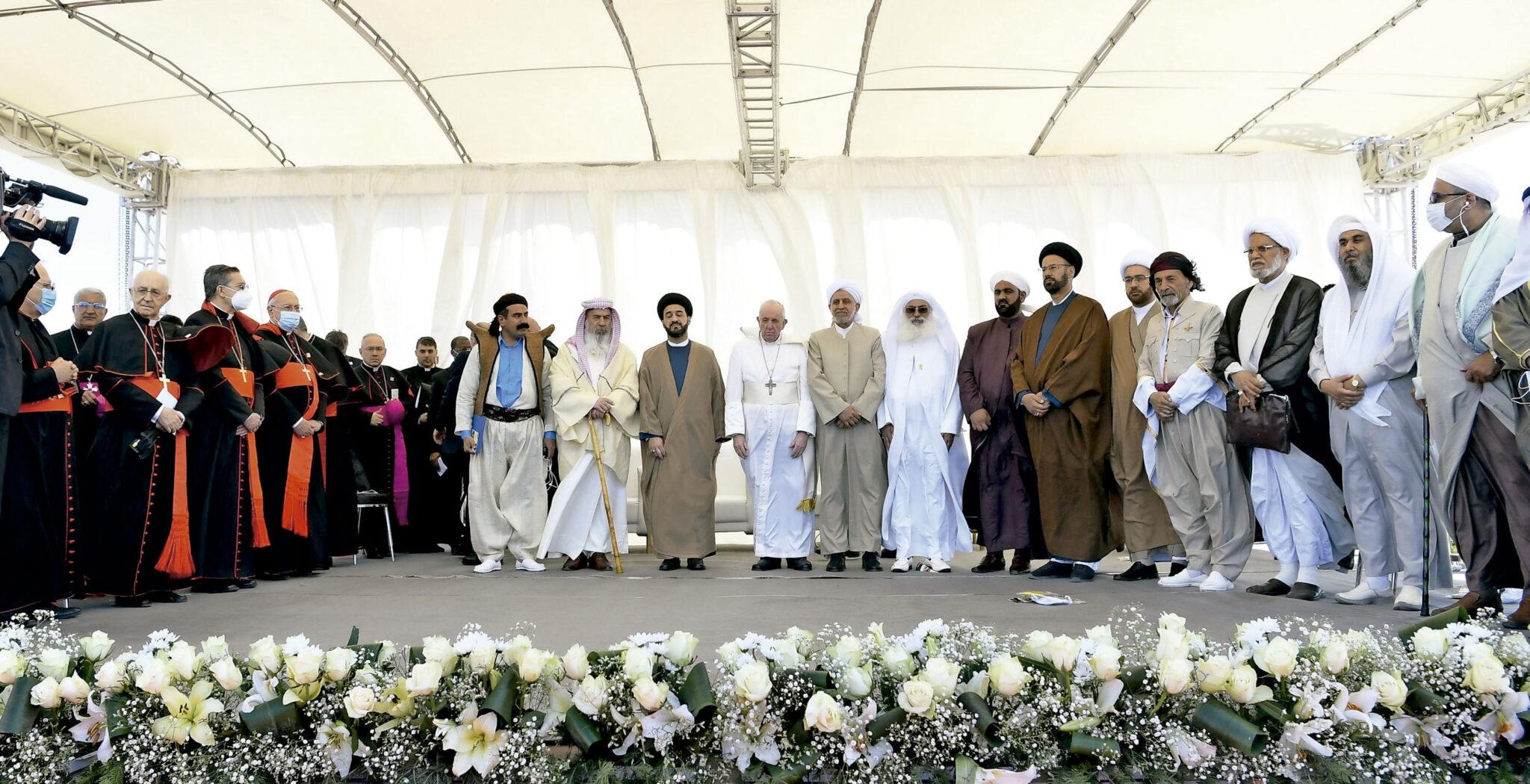 Encuentro interreligioso en Ur. Irak