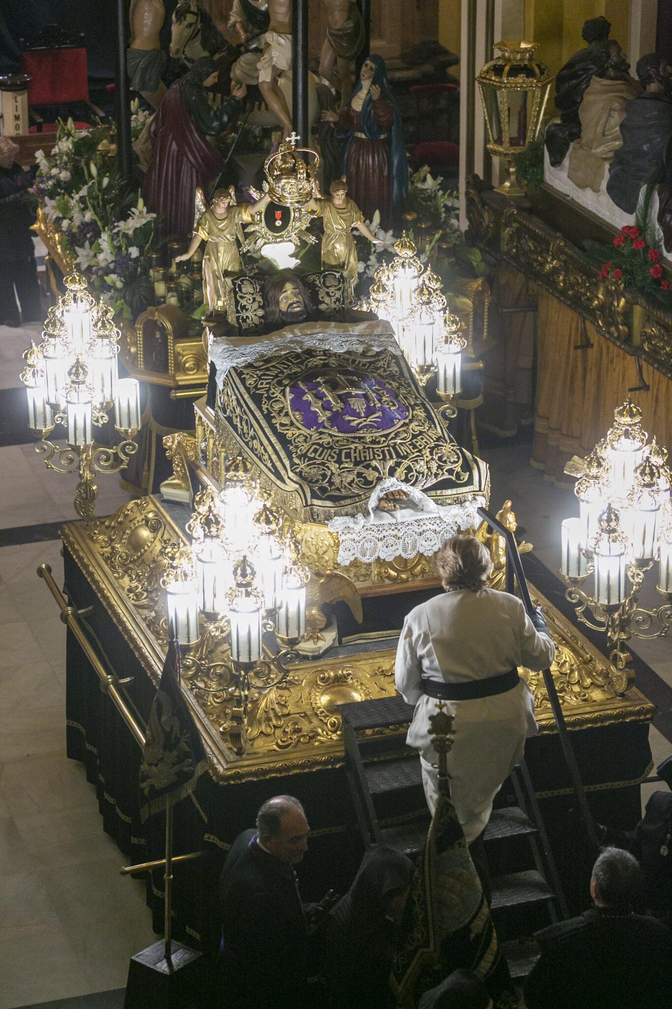 Hermandad de la Sangre de Cristo, Zaragoza. Foto: Javier Bellver
