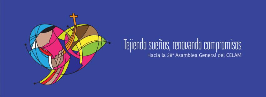 El logo de la 38 Asamblea del CELAM