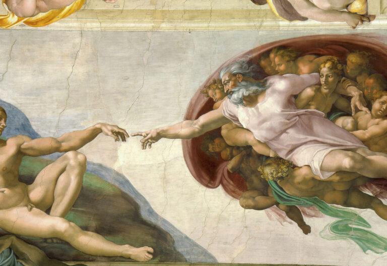 La Creación, Miguel Ángel. Capilla Sixtina