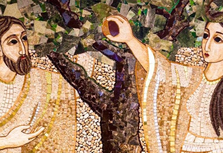 Representación de Adán y Eva
