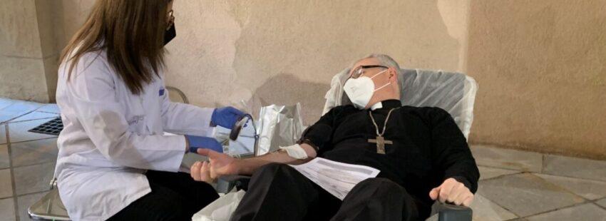 El obispo auxiliar de la Diócesis de Cartagena, Sebastián Chico