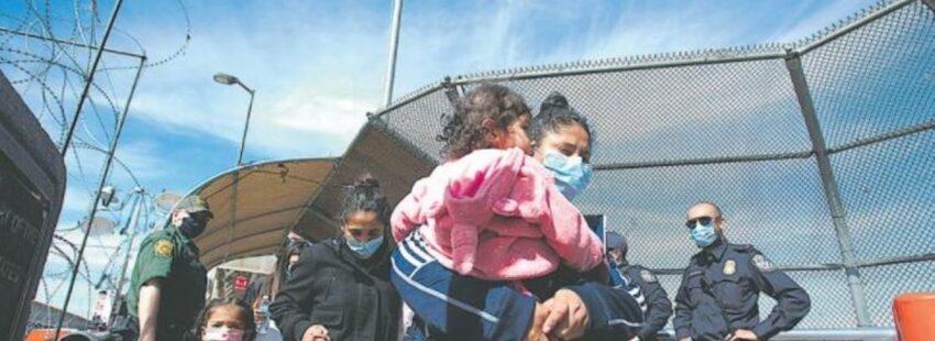 migrantes rumbo a Estados Unidos