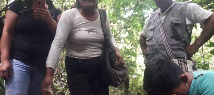 Líderes indígenas de la selva norte Perú