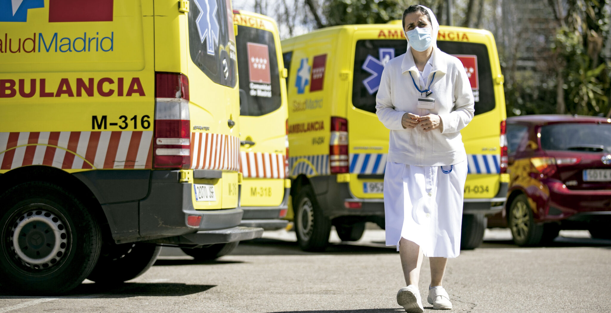 r Eva Sáez es enfermera en el Hospital de la Paz