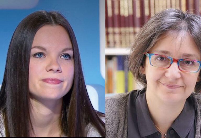 Anne-Sophie Monsinay y Pauline Bebe