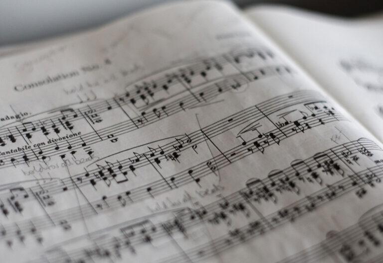 partitura música