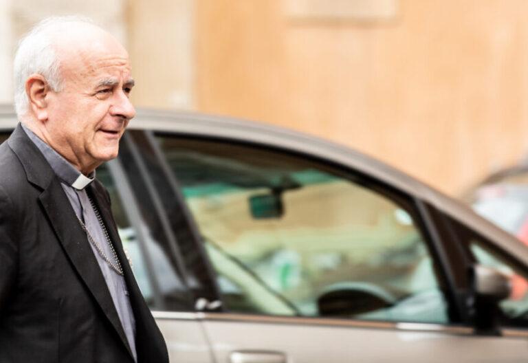 El presidente de la Academia Pontificia para la Vida del Vaticano, Vincenzo Paglia