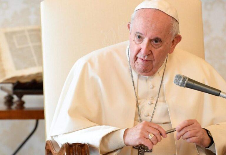 El Papa Francisco, en los Palacios Apostólicos