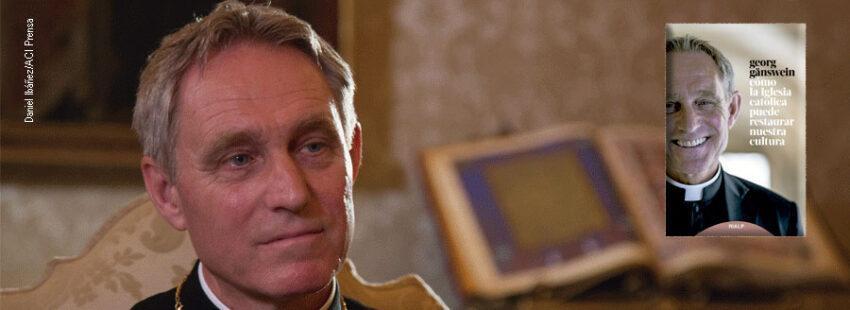 Georg Gänswein, el perpetuo y fiel secretario de Benedicto XVI