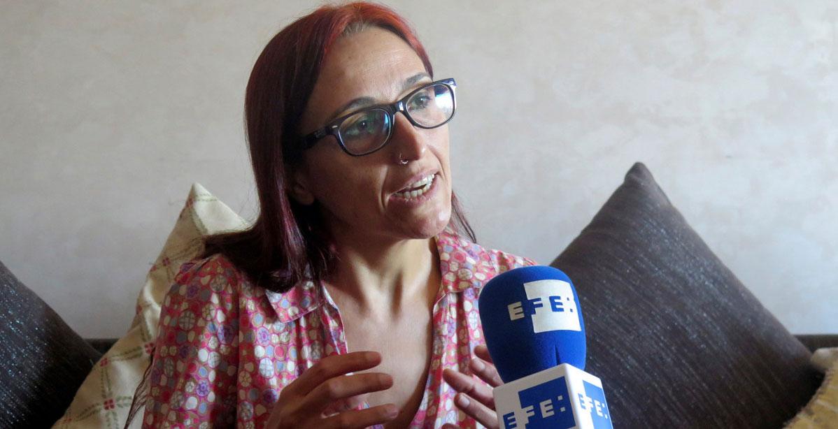 La activista Helena Maleno