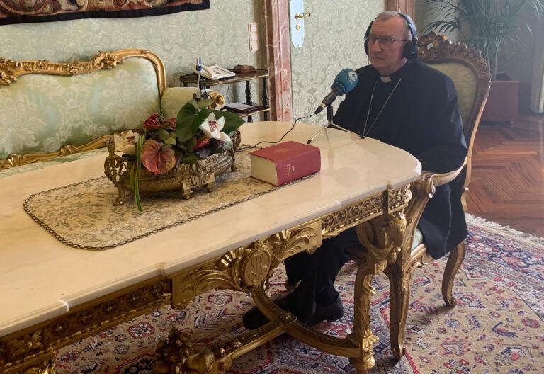Cardenal Pietro Parolin, secretario de Estado del Vaticano