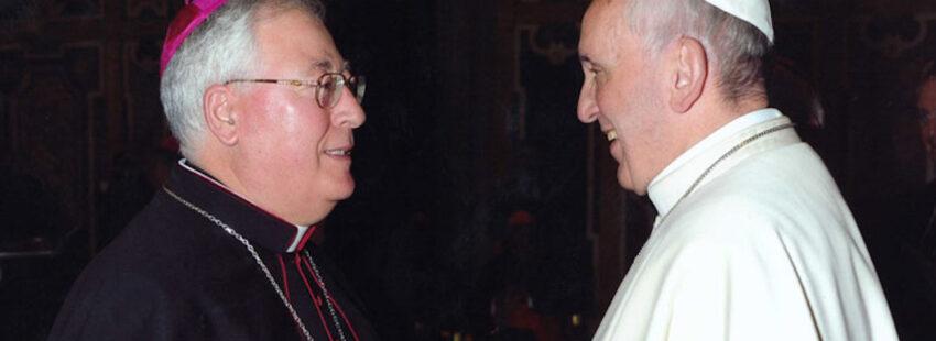 Reig Pla y Francisco en el Vaticano